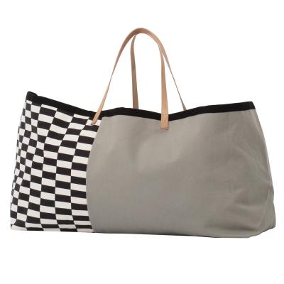 Herman väska L grå