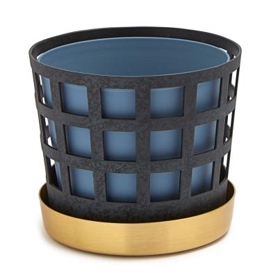 Bild av Trio Square kruka S, blå