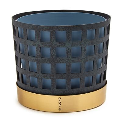 Bild av Trio Square kruka M, blå