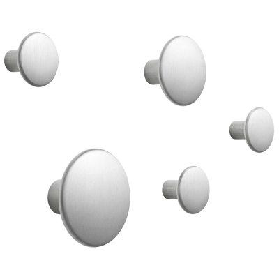 Bild av The Dots Metal hängare 5-pack, aluminium