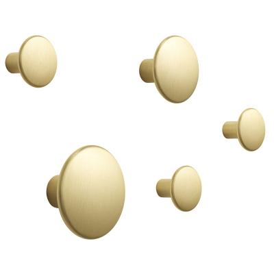 Bild av The Dots Metal hängare 5-pack, mässing