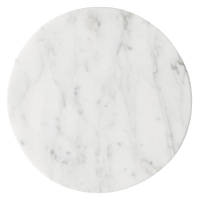 Wire toppskiva vit marmor