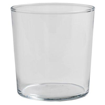 Hay glas M, klar