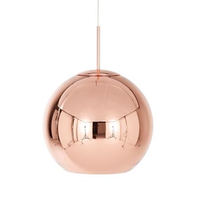 Bild av Copper Round pendel, large