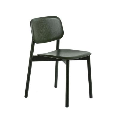 Soft Edge stol, mörkgrön