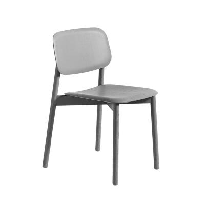 Soft Edge stol, ljusgrå
