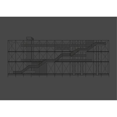 Bild av Pompidou poster 50x 70, svart
