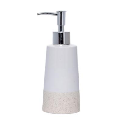 Sand tvålpump, off-white