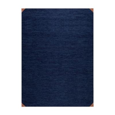 Bild av Le cuir Bleu matta 80x 150 cm, blå