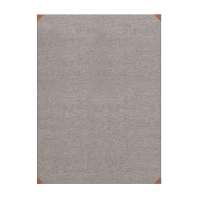 Le cuir Cendre matta 80×150 cm grå