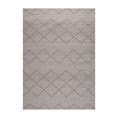 Bild av Geometrie 03 matta 300x 400 cm, askgrå
