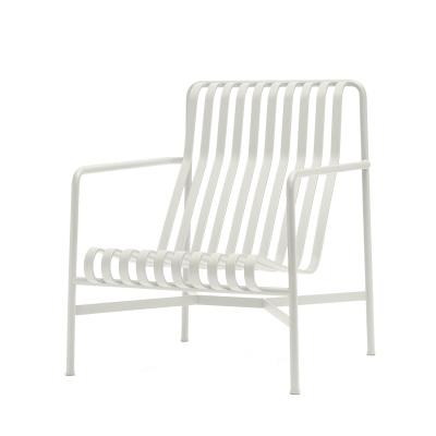 Palissade loungestol hög, cream white