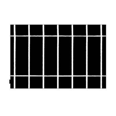 Tilliskivi kuddfodral s, svart/vit