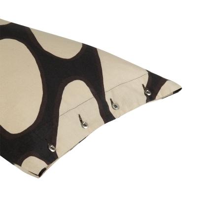 Bild av Linssi kuddfodral, svart/beige