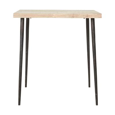 Slated bord, trä/järn