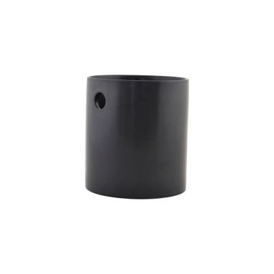 Bestickburk S, matt svart
