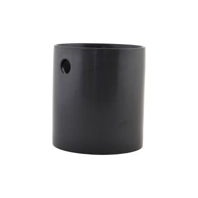 Bestickburk L, matt svart