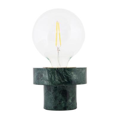 Bild av Marmor bordslampa, grön