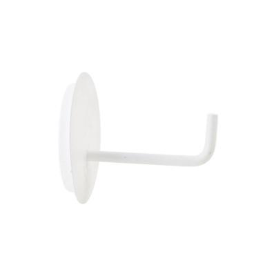 Text toalettpappershållare, vit