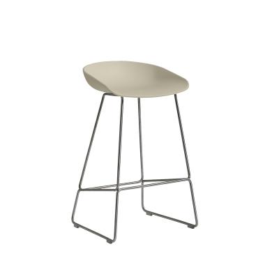 Bild av About a Stool 38 barstol h 65, pastell grön/rostfritt
