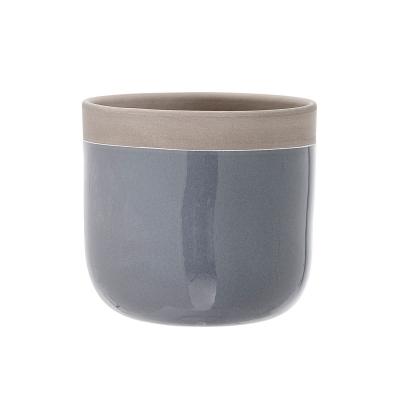 Bild av Terracotta blomkruka S, grå