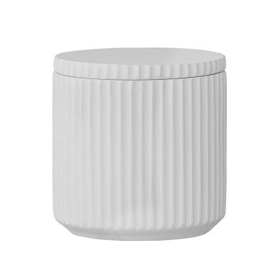 Classy förvaringsburk, vit