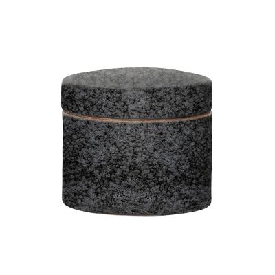 Noir skål med lock S, svart