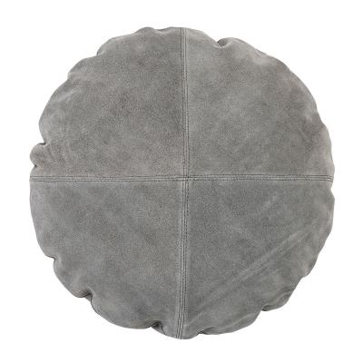 Bild av Mocka rund kudde, grå