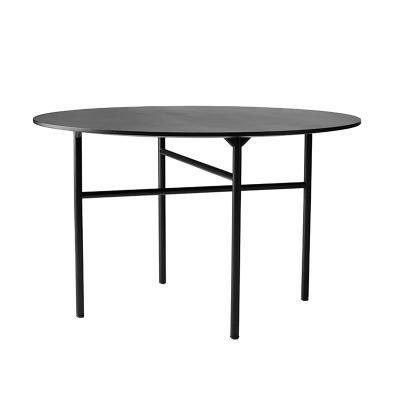 Bild av Snaregade Round bord 120 cm, svart