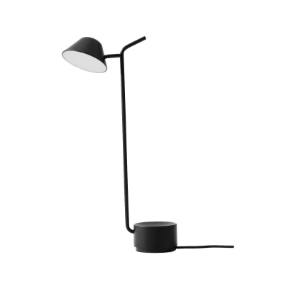Peek bordslampa, svart