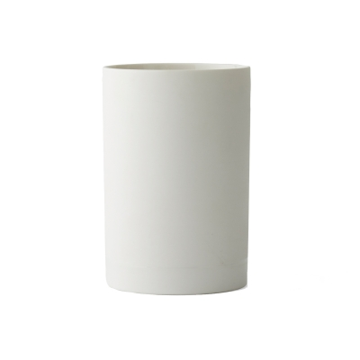 Cylindrical vas S, vit