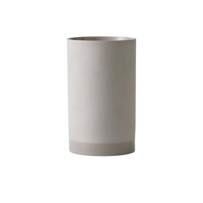 Cylindrical vas L askgrå