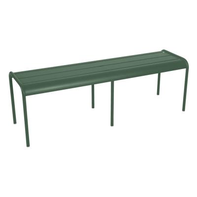 Luxembourg bänk, cedar green