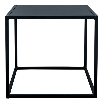 Domo Square bord S outdoor svart