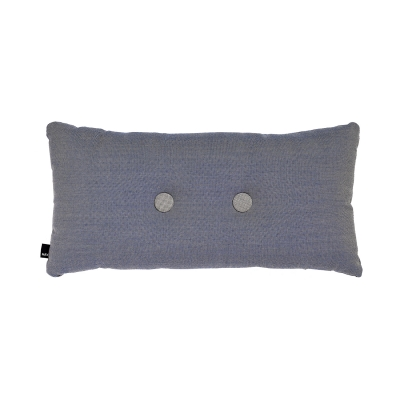 Bild av 2 Dots kudde, stålblå