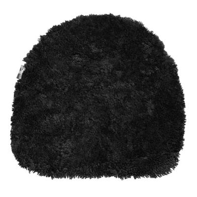 Oz stolsdyna fårskinn svart