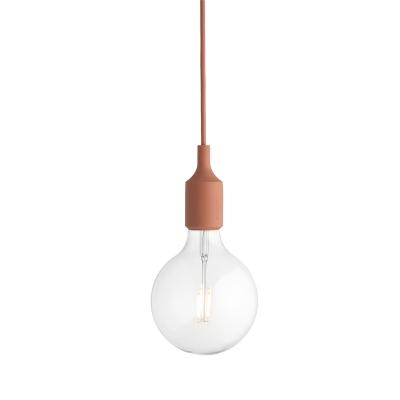 E27 lampa LED terracotta