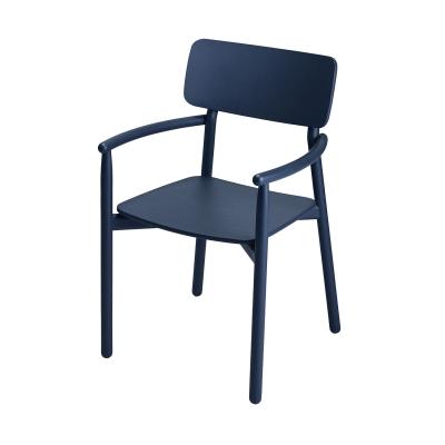 Hven karmstol, mörkblå