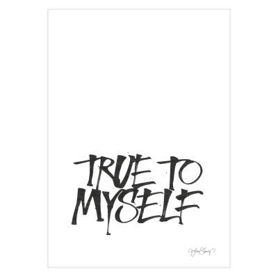 True To Myself poster