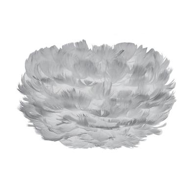 Eos Micro fjäderlampa skärm, grå