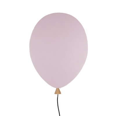 Balloon vägglampa LED, rosa