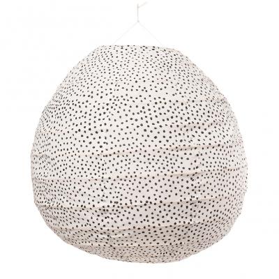 Bild av Fleck lampskärm, vit/svart