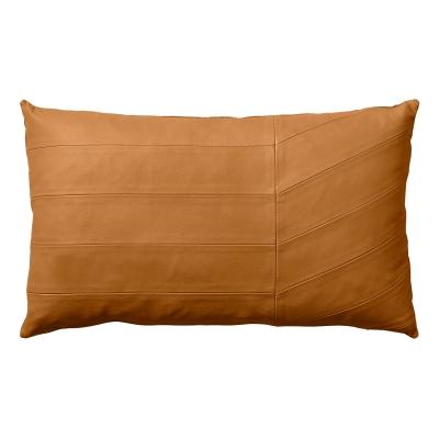 Bild av Coria kudde, amber läder