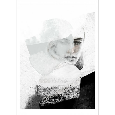 A quiet reminder poster 50x70