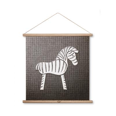 Bild av Kay Bojesen Zebra målning