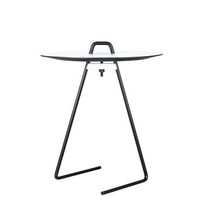 Bild av Side table sidobord, svart/vit