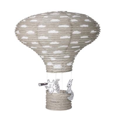 Balloon lykta, grå