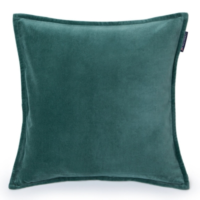 Velvet kuddfodral 50x50, grön