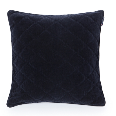 Velvet kuddfodral 65x65, svart