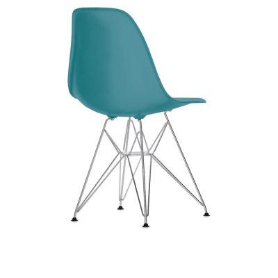 Eames Chair, DSR kromade ben, ocean